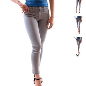 J Brand Cotton Twill Capri pants jeans 25 cafe